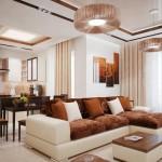 Chọn đèn trang trí cho không gian phòng khách nhà bạn