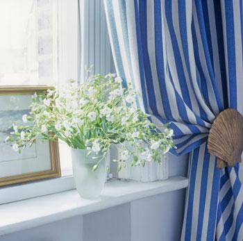 Rèm cửa đúng màu phong thủy tốt cho nhà ở