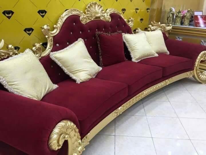Ghế sofa cổ điển Châu Âu HG01
